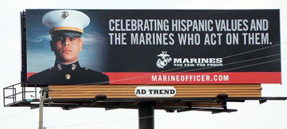 Marines-Hispanic-Values-billboard